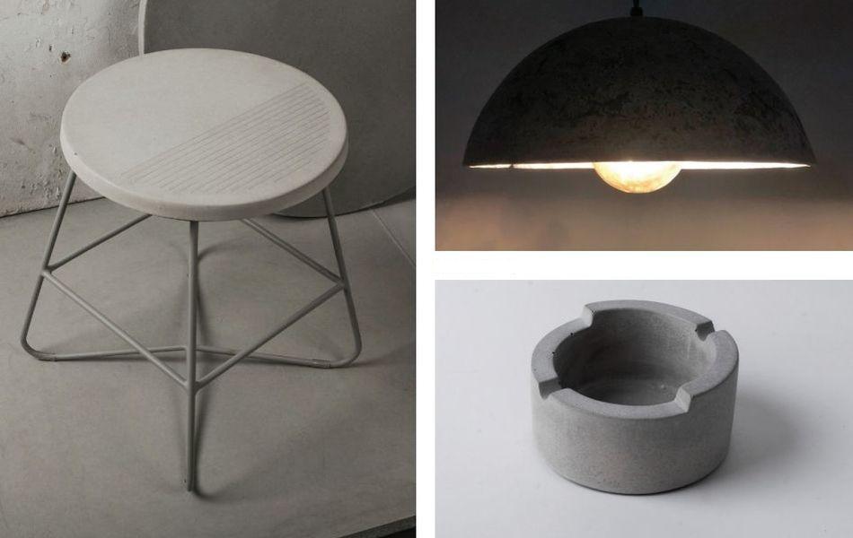 Conture Concrete Lab Presents Concrete Furnishings at Maison and Objet 2019