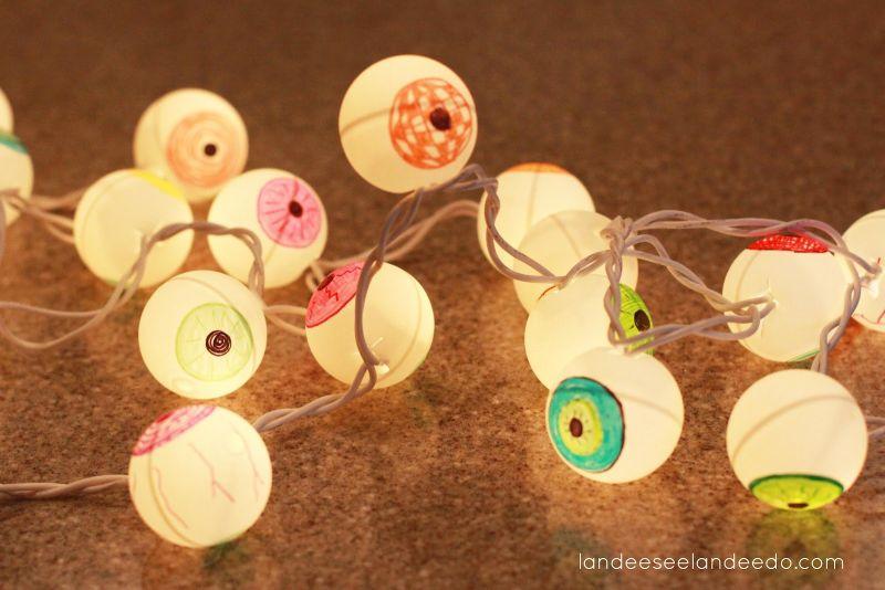 DIY eyeball lights