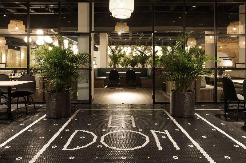 Garden of Hesperides Inspired Ladon Grill Restaurant Creates Dreamlike Atmosphere