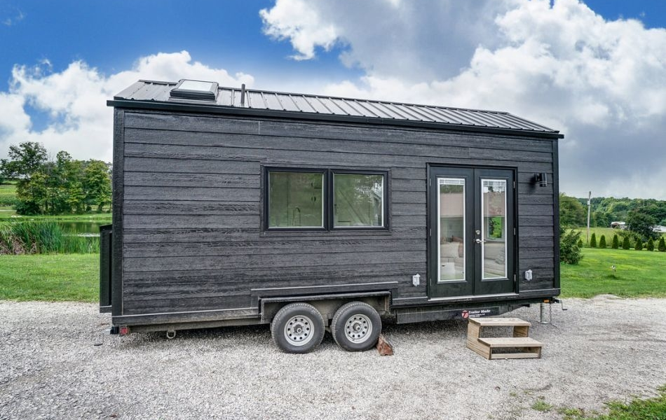 Modern Tiny Living Custom Builds 22-Ft Tiny House on Wheels for Rogier