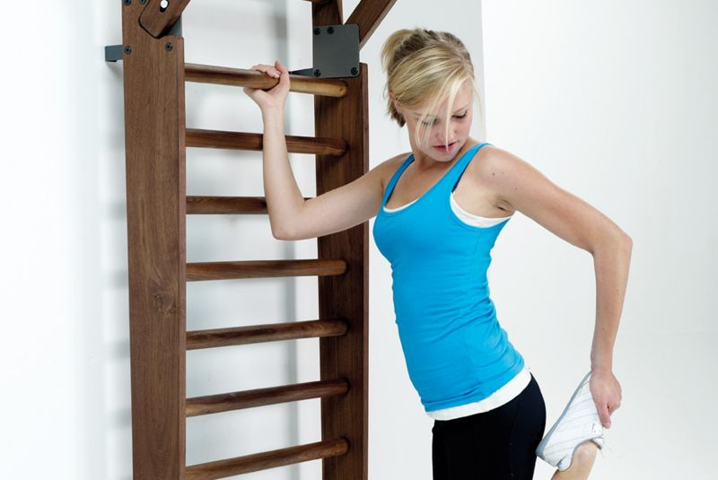 NOHrD WallBars Provides Comfortable Workout Session at Home