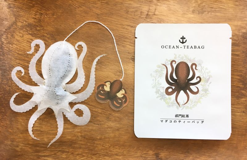 Ocean Teabags Brings Marine Life and Delicious Flavors to Your Teapot