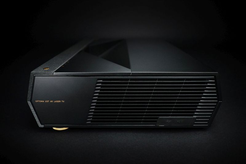 Optoma's CinemaX P1 Smart 4K UHD Laser Projector is Available for Pre-Order