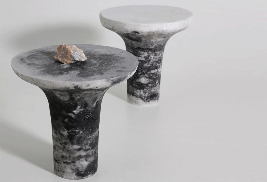 Salt Furniture by Roxane Lahidji is Cleaner Alternative to Marble
