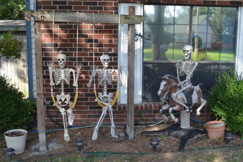 Skeleton playground