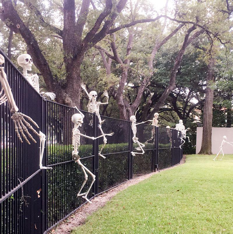 Skeletons raiding your home