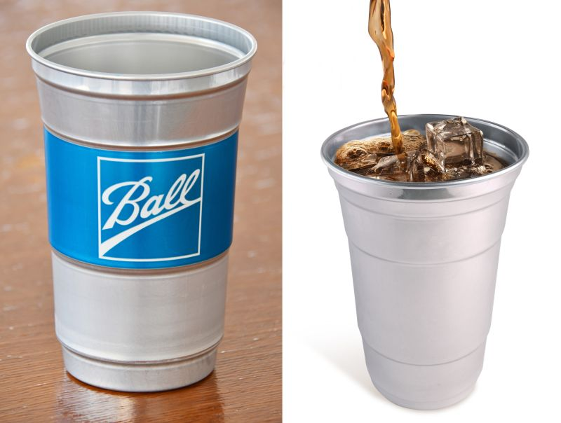 Ball Introduces Disposable Aluminum Cups to Replace Plastic Cups