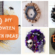 100+ DIY Halloween Wreaths to Welcome Evil Spirits into Your Home
