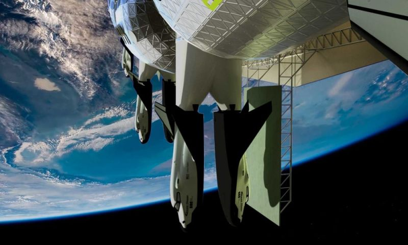 Gateway Foundation Releases Rendered Images of Von Braun Rotating Space Station