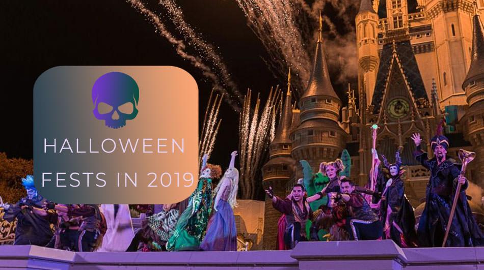 Halloween fests in US 2019