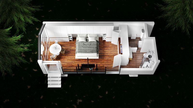 Haus.me: Off-Grid Prefab Homes that can be Placed Anywhere