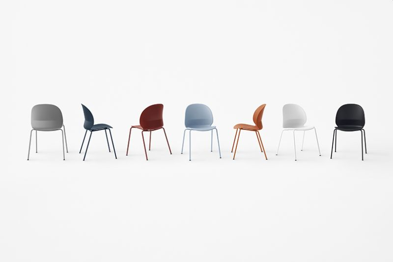 N02 Recycle chair by Nendo