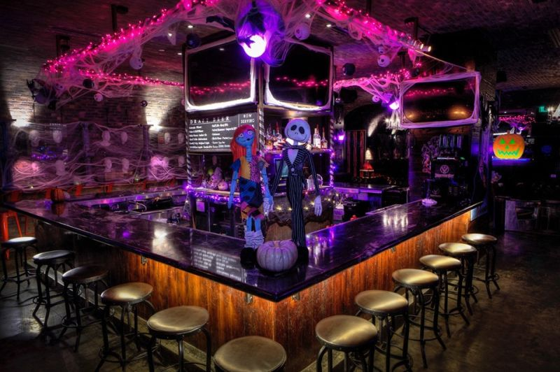 Pub's Transformation into Nightmare Before Christmas -Themed Pop-Up Bar is a Treat for Fans