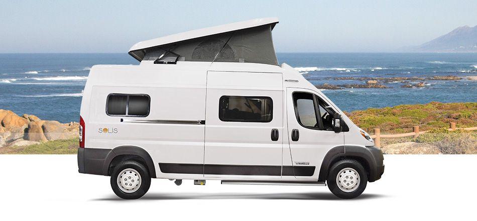Winnebago Introduces its Solis Pop-Top Camper Van