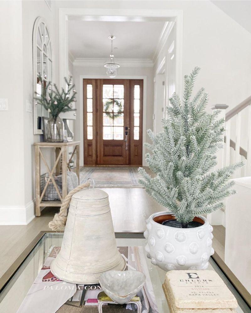 Christmas entryway decoration ideas
