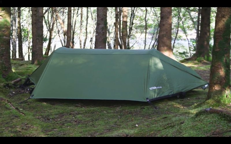 Crua Modus is a Multipurpose Camping Tent, with Hammock, Bedding, More