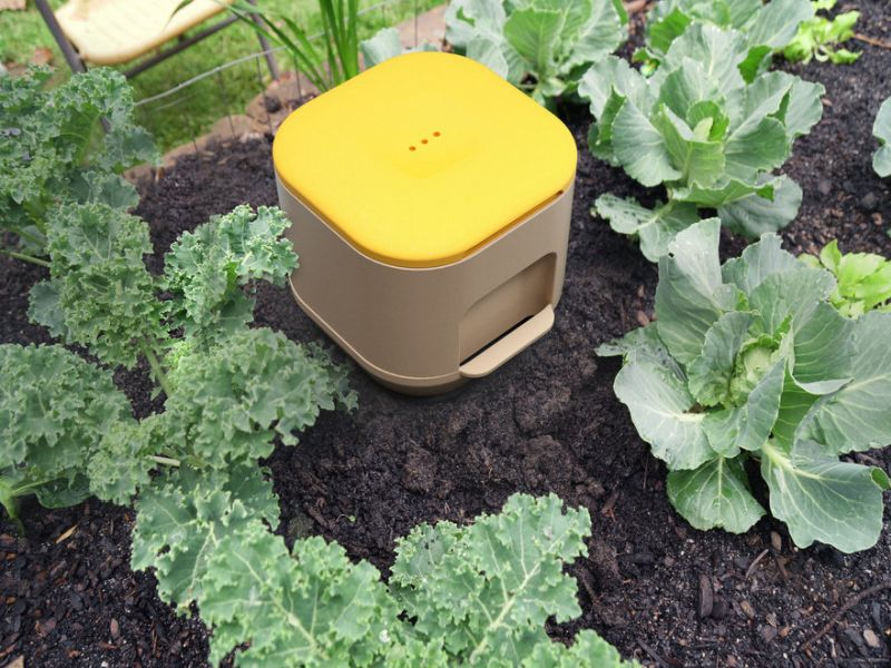 In-Ground Yield Vermicomposting Modular Bin Minimizes User Interaction