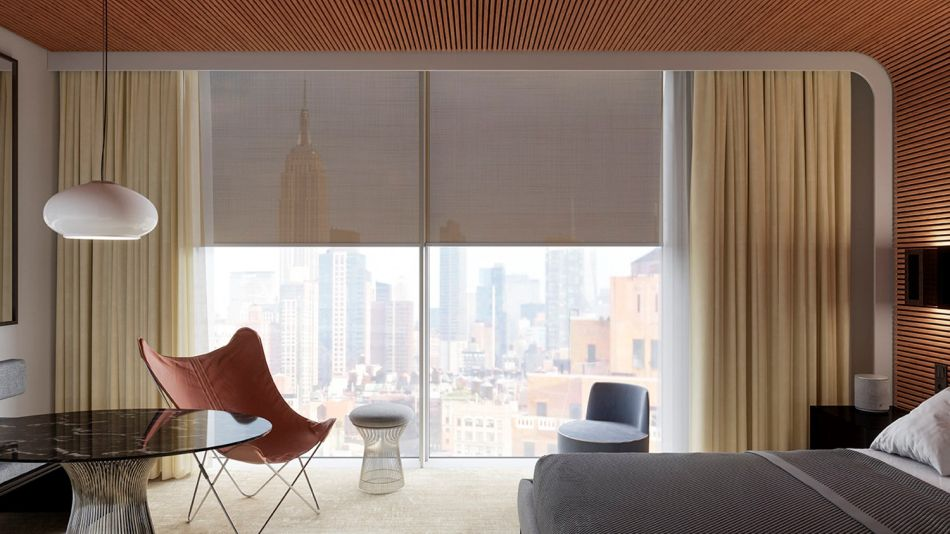 Kvadrat Introduces Designer Roller Window Blinds That'll Fit any Style