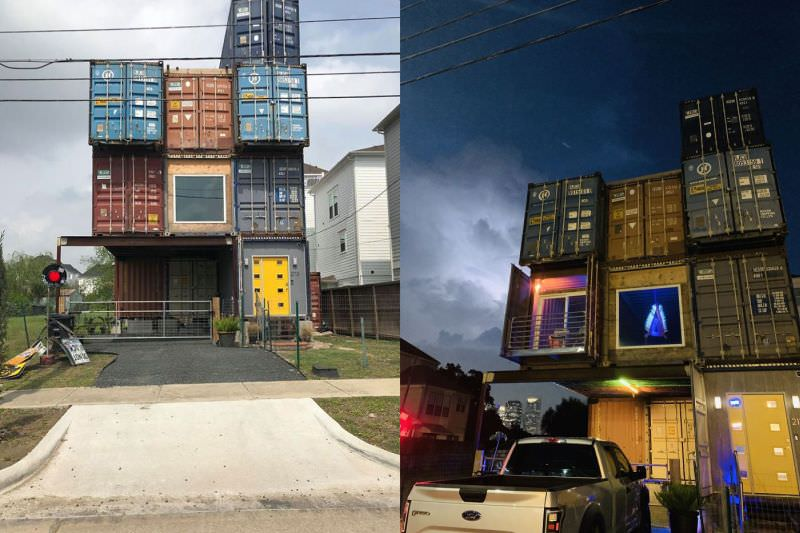 Man Builds Amazingly Fascinating Dream House Using 11 Shipping Containers