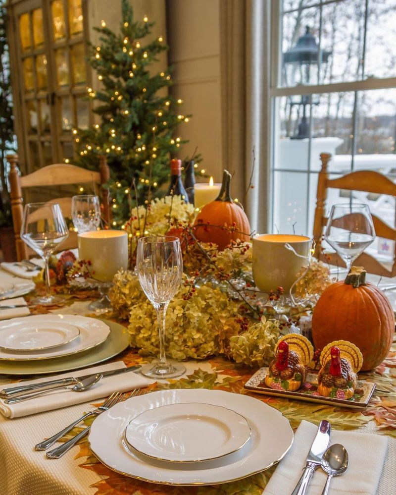 Thanksgiving Table Décor Ideas to Steal from Instagram