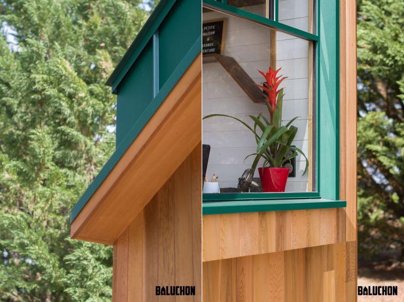Hauméa Tiny house by Baluchon for Célia and Damien