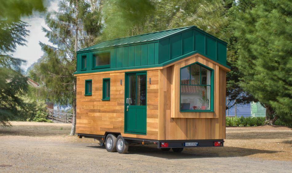 Hauméa Tiny house by Baluchon for Célia and Damien