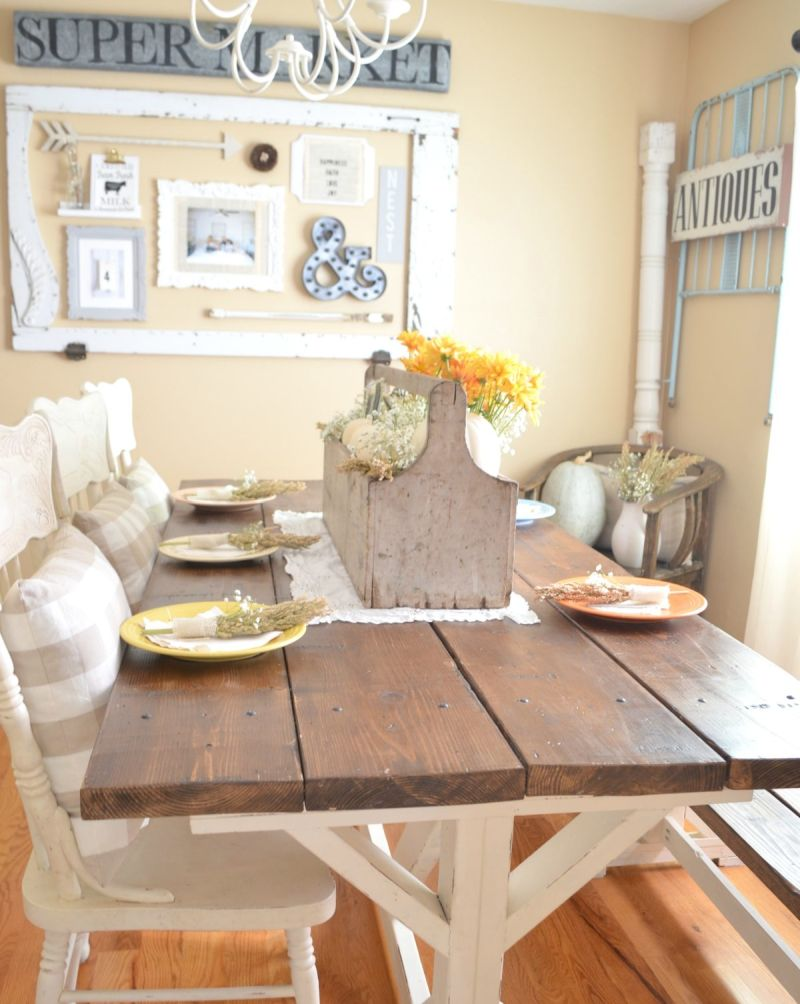 Vintage Thanksgiving table décor ideas