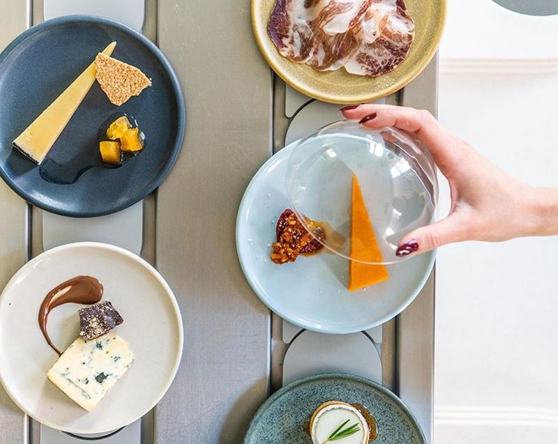 World's First Cheese Conveyor Belt Restaurant is Open in London