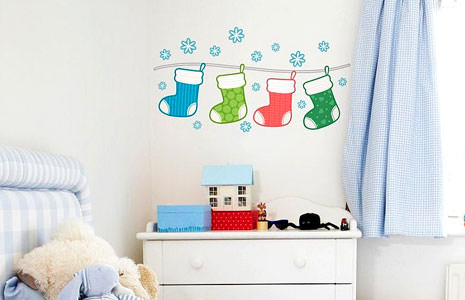 Best Christmas Wall Decals for Quick and Easy Home Decoration