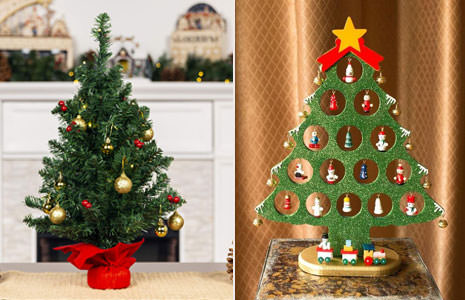 25 Best Tabletop Christmas Trees You can Buy for Under $50