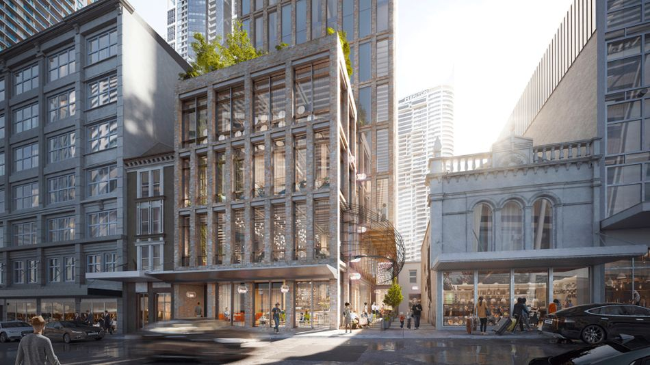 Crone's Design Wins Competition for Construction of $250m Hotel Using Recycled Brick in Sydney
