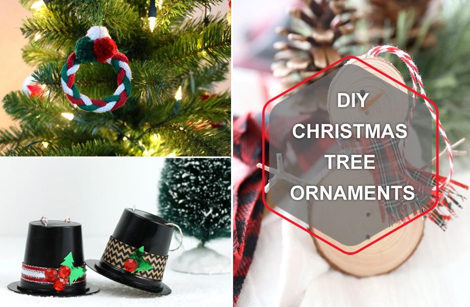 DIY Christmas tree ornaments
