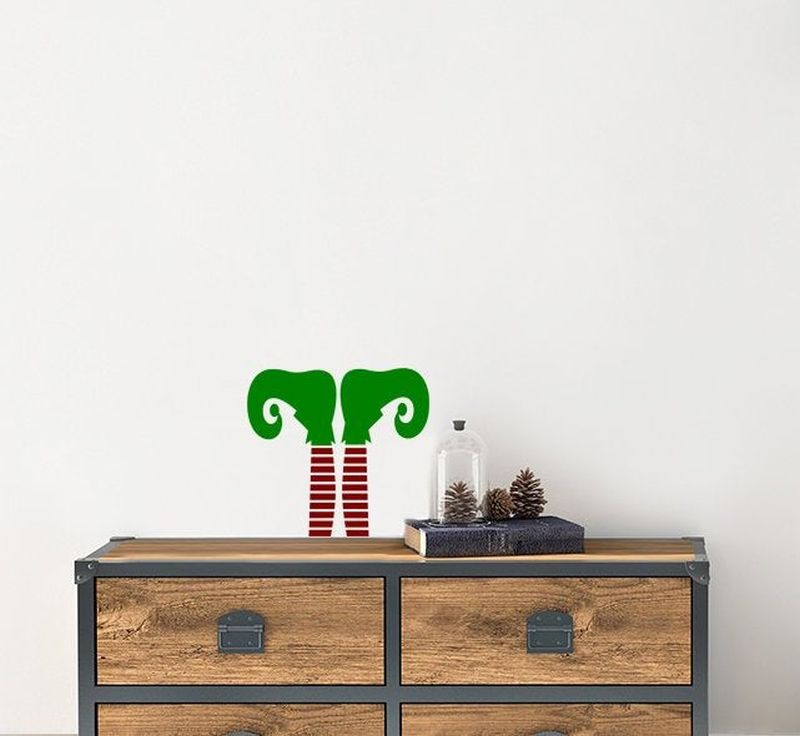 Christmas Elf wall decals