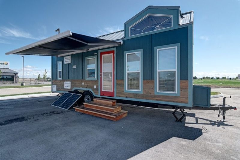 Fully Off-Grid K2 Tiny House on Wheels Features Double Dormer Lofts