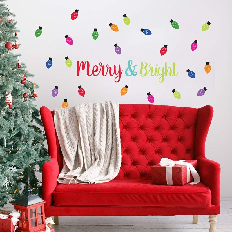 Paper Riot's Christmas wall decal