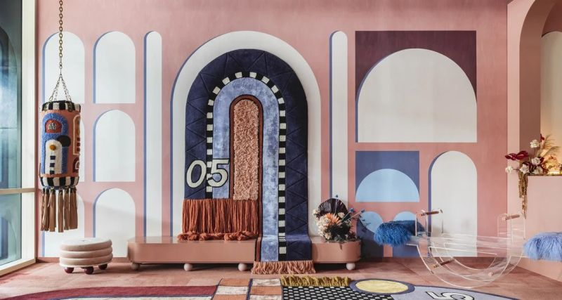 Several trends to expect in the year ahead, including dusky pastels and Art Deco-inspired lines