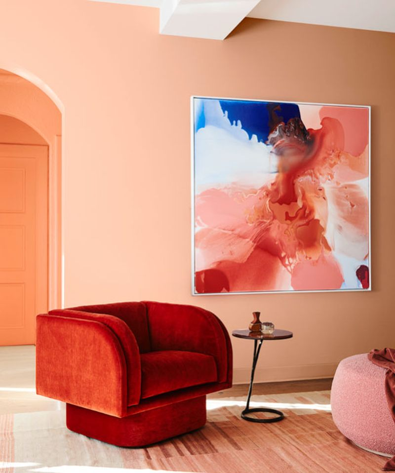 Bright colors for 2020 interior design