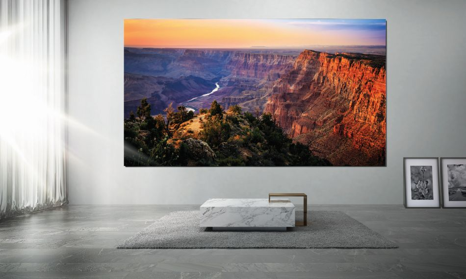 Samsung's Launches its The Wall Giant TV in India