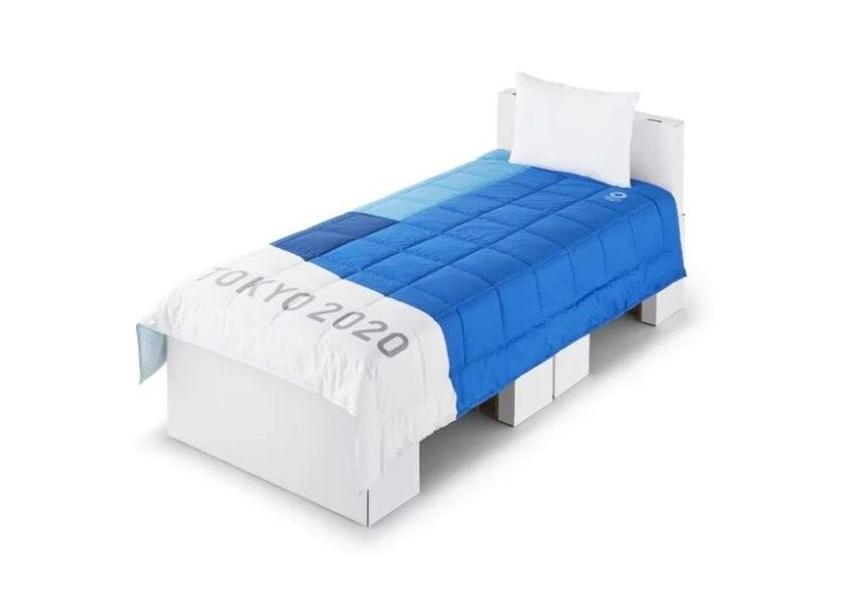 Airweave's Cardboard Beds for Athletes at Tokyo Olympics Games 2020