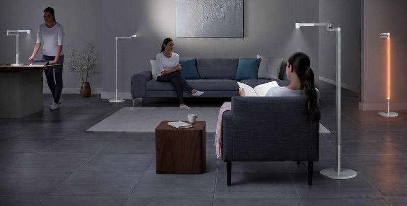 Dyson Releases New Lightcycle Morph Lamp that Mimics Candlelight