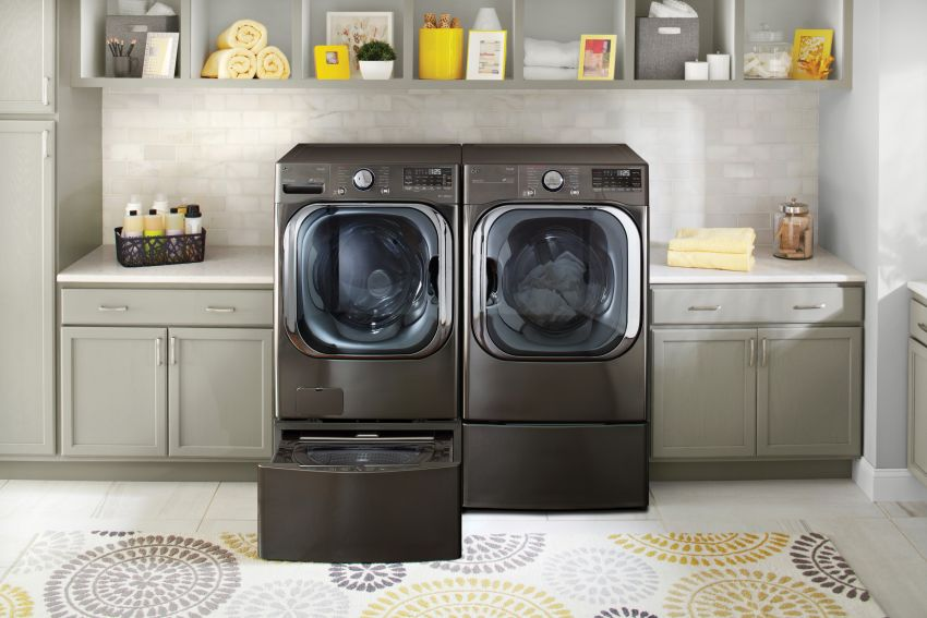 LG ThinQ Smart Washer Identifies Fabric Types to Choose the Best Washing Cycle