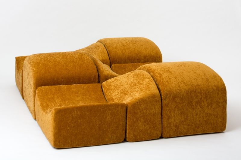 Ligne Roset Presents Bernard Govin-Designed Asmara Modular Sofa at IMM Cologne 2020