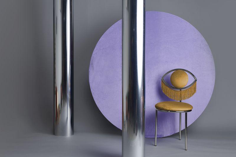 Masquespacio Designs Wink Chair for Houtique
