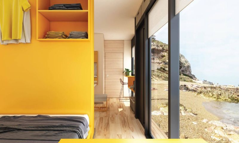 Nestron Cube One Prefab Home can Withstand Earthquakes