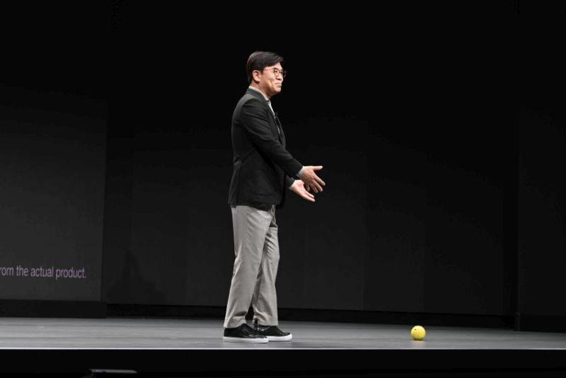 Samsung Ballie AI-Powered Home Robot at CES 2020