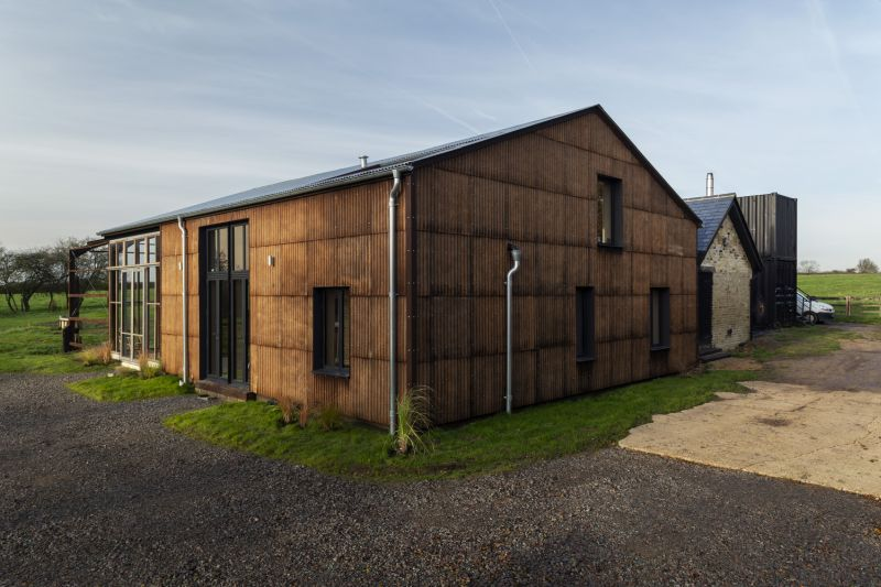 Solar-Powered Flat House by Practice Architecture is Made from Hemp