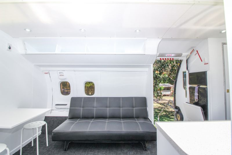 Tiny House Guys Makes Tiny House out of Airplane Parts