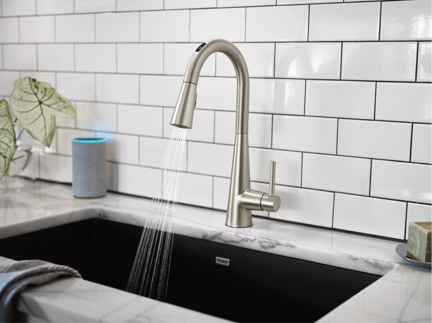 U by Moen Smart Faucet Offers Exact Amount of Water at Right Temperature