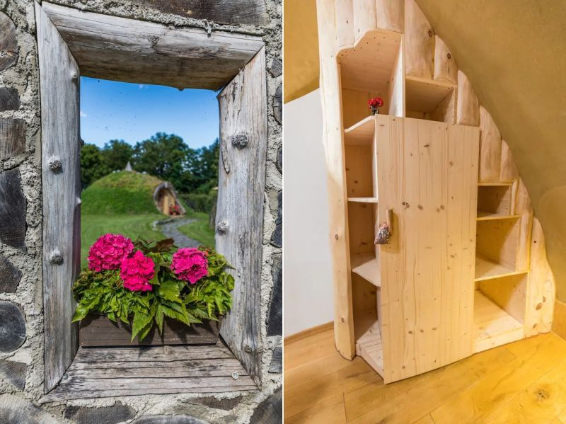 You can Rent this Earth-Berm House in Razkrižje, Slovenia for $81 at Airbnb