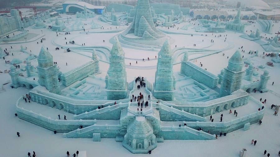 Harbin Ice and Snow Festival Has Opened its Dazzling Frozen Wonderland to Visitors